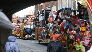 Près de 20.000 personnes à la clôture du carnaval d'Alost ce mardi soir