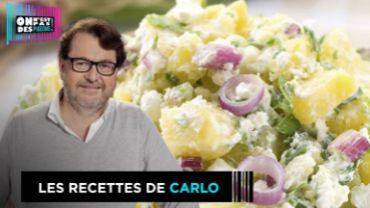 Salade de pommes de terre au cresson de Carlo de Pascale