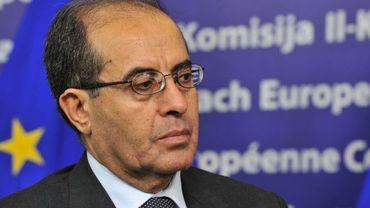 Mahmoud Jibril à Bruxelles