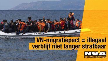 """Campagne N-VA contre le pacte migratoire: Jambon reconnaît """"une erreur de communication"""""""