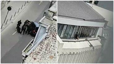 """Bruxelles: important déploiement policier autour de la Monnaie, un suspect """"sous contrôle"""""""