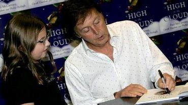 Paul McCartney en dédicace à Londres