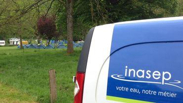 Le bourgmestre de Dinant Richard Fournaux (MR) a demandé des analyses à l'Inasep.