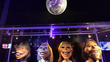 Des poupées ABBA dans le musée officiel du groupe