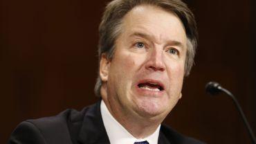 Au bord des larmes, le juge Kavanaugh a répété qu'il était innocent