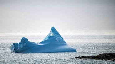 Un iceberg au large du Groenland