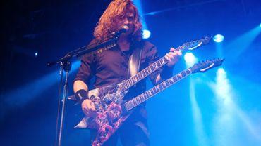 Dave Mustaine : cancer de la gorge