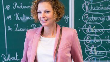 La grande rentrée pour la ministre de l'Education Marie-Martine Schyns.