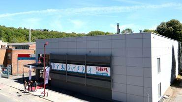 La Province de Liège investit 1,6 million d'euros pour le hall omnisports de l'HEPL