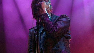 Julian Casablancas, leader du groupe américain The Strokes