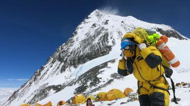 Les secours étaient déjà présents sur l'Everest le week-end dernier pour tenter de retrouver des alpinistes portés disparus.