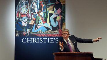 Les enchères d'art à New York ont atteint en mai des sommets jamais vus