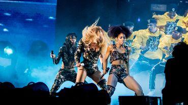 Beyoncé de retour sur scène accompagnée de ses anciennes partenaires des Destiny's Child