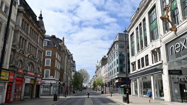 Une rue commerçante de Londres