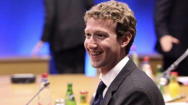 Mark Zuckerberg, patron de Facebook, lors du G8