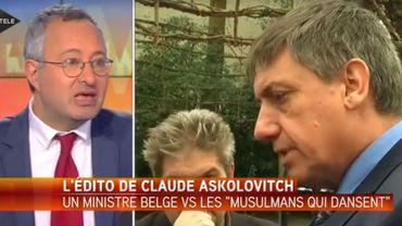 L'éditorialiste Claude Askolovitch.