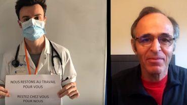 """Coronavirus: Jean-Jacques Goldman chante pour dire """"merci"""" aux soignants, éboueurs, caissiers..."""