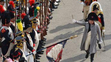 Roberto Colla joue le rôle de Napoleon Bonaparte