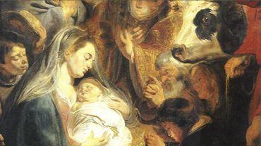 L'adoration des bergers (détail)