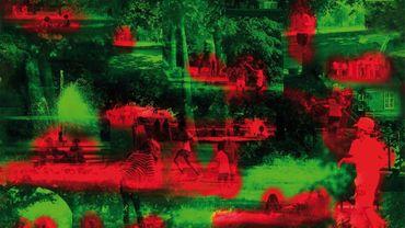 """""""Summer hours in Kensington"""", le papier peint conçu par Jean Nouvel."""