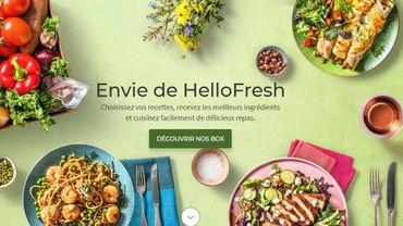 Premier bénéfice pour HelloFresh, spécialisée dans la livraison de boîtes de repas