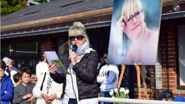 En octobre 2019, des centaines de personnes s'étaient réunies à Godinne pour rendre hommage à Wivinne Marion