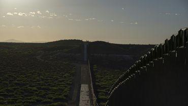 La frontière américano-mexicaine près de Santa Teresa, au Nouveau-Mexique, le 30 avril 2019