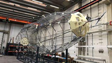 Le liégeois FlyWin développe un prototype de ballon dirigeable pour le fret aérien