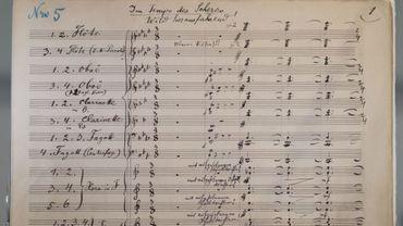 Annotées de la main de Mahler, les 232 pages originales de la Symphonie n°2 appartenaient à un homme d'affaires new-yorkais, Gilbert Kaplan, mort en janvier