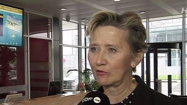 Marie-Dominique Simonet, présidente du conseil d'administration de Liège Airport