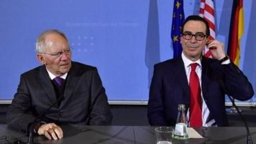 """Schäuble et Mnuchin ne vont pas «régler tous les problèmes à Baden Baden"""", ce week-end  durant le G20."""