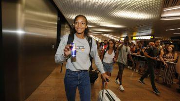 Nafissatou Thiam est rentrée au pays dimanche avec sa médaille d'or à l'heptathlon