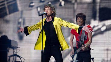 Les Rolling Stones en concert à Paris le 13 juin