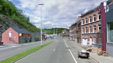 Le centre serait situé rue de la Grappe (photo), à la frontière entre Dison et Verviers.