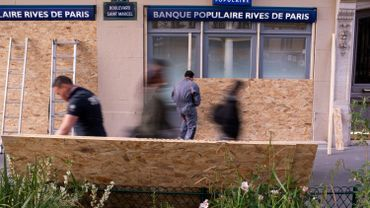 France: la police en force à Paris en vue de la fête du travail