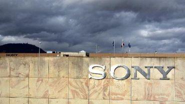 Le logo de Sony à Ribeauville en France