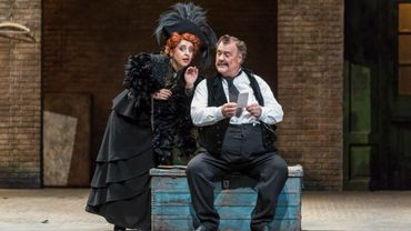 Varduhi Abrahamyan et Bryn Terfel dans Falstaff de Verdi M.e.s de Dominique Pitoiset