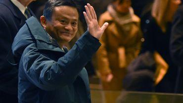 Jack Ma, le fondateur et patron d'Alibaba, le 10 janvier 2017