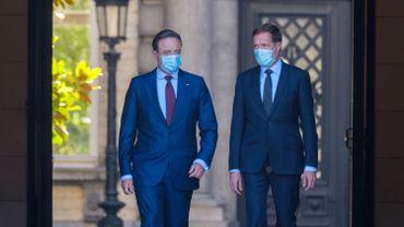 Magnette et De Wever poursuivent leur mission jusqu'au 8 août