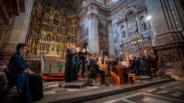Ferveur et émotion avec l'ensemble Vox Luminis et la musique sacrée de Monteverdi