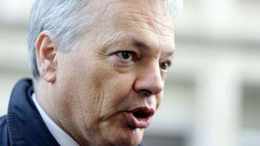 Le vice-premier ministre MR Didier Reynders, exerce aussi la tutelle sur Beliris.
