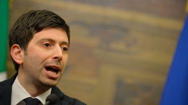Roberto Speranza, l'un des membres du nouveau parti DP