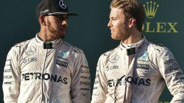 Hamilton-Rosberg, une série va prendre fin en Chine