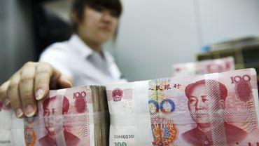 Des paquets de yuans