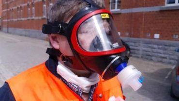 Coronavirus - D'anciens masques de pompiers transformés pour le personnel soignant à Bruxelles
