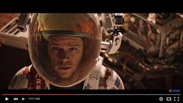 "Dans ""Seul sur Mars"", Matt Damon incarne l'astronaute Mark Watney"