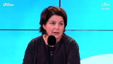 """Marie-Hélène Ska se dit au contraire """"en attente du politiqueet en colère""""."""