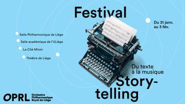 Musiq'3 soutient le festival Storytelling de l'Orchestre Philharmonique Royal de Liège
