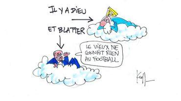 """""""Il y a Dieu, et Blatter"""""""