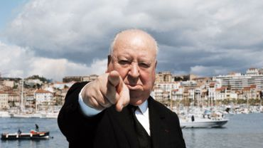 Alfred Hitchcock (1899 - 1980) à Cannes